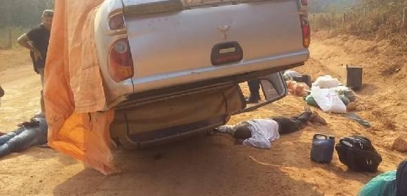 Acidente deixa um morto e sete feridos na região garimpeira de Itaituba