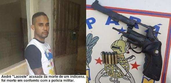 Acusado pela morte de indígena em Jacareacanga, morre em confronto com a polícia