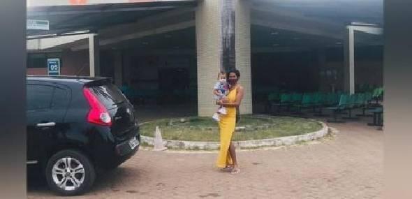 Bebê itaitubense que estava internado na UTI após testar positivo para covid-19 recebe alta