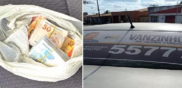Candidato a vereador é preso com mais de R$ 15 mil na cueca