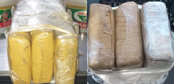 Dupla residente em Itaituba é detida na BR-163 pelo crime de contrabando de cigarro