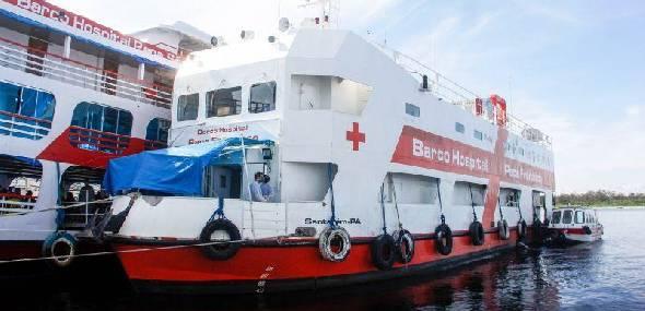 Em oito dias, Barco Hospital Papa Francisco realiza mais de 23 mil procedimentos no Oeste