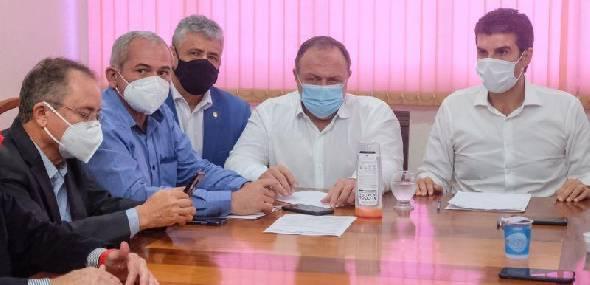 Em reunião com governador do Pará, ministro da Saúde promete 1,5 milhão de vacinas