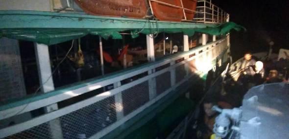Embarcação naufraga no Pará, mas tripulantes e passageiros se salvam. Assista!