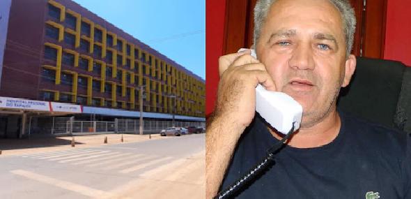'Eu não vou permitir que fechem o hospital regional', diz prefeito Valmir após protesto em Itaituba