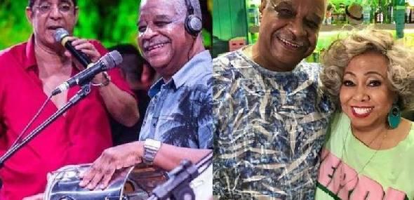 Famosos lamentam morte de Ubirany do grupo Fundo de Quintal
