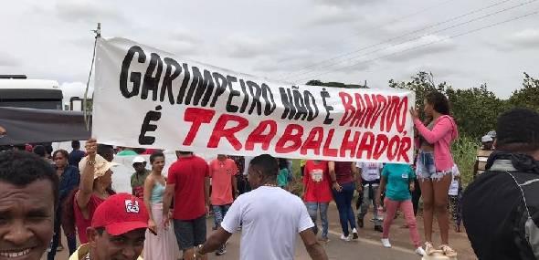 Garimpeiros ameaçam fechar rodovia BR 163 no Pará