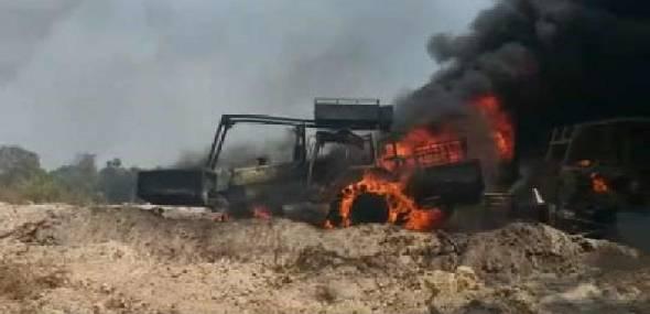 Ibama destrói maquinas em Garimpo na região de Novo Progresso