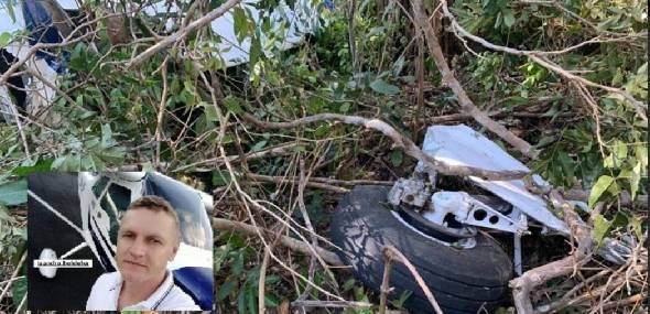 Investigação apontou falha humana como causa na queda de avião com piloto de Novo Progresso em Teresina-PI
