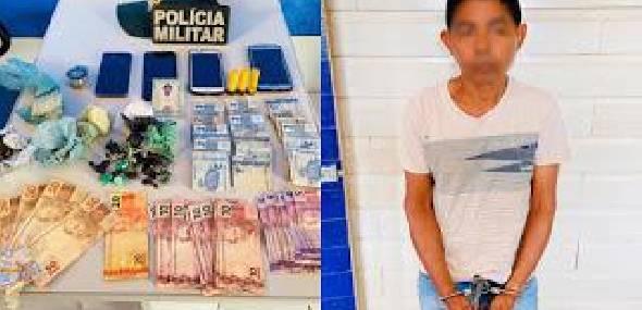 Joalheria usada como ponto de venda de drogas é alvo de ação policial, em Itaituba