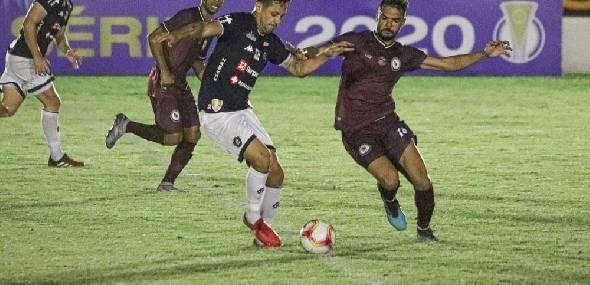 O Leão Azul estreou fora de casa com o pé direito no Campeonato Brasileiro da Série C