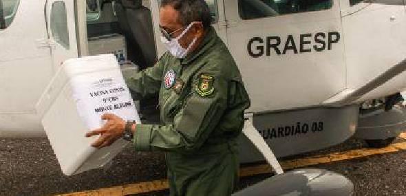 Oeste do Pará recebe mais 1,3 mil vacinas e ultrapassa 78 mil doses de imunizantes contra Covid