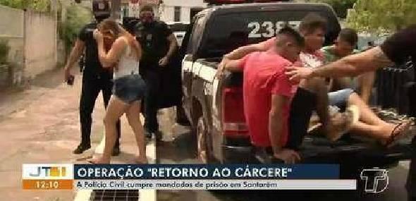 Operação 'De volta ao Cárcere' cumpre 50 mandados de prisão em Santarém
