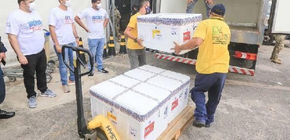 Pará recebe vacina da Oxford/Astrazeneca e interior terá prioridade na imunização