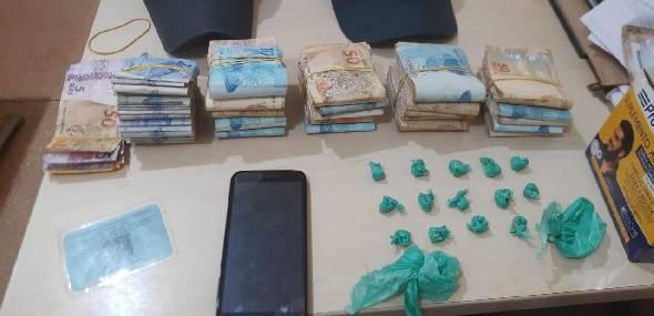 Polícia Militar de Jacareacanga prendeu homem acusado de tráfico de drogas
