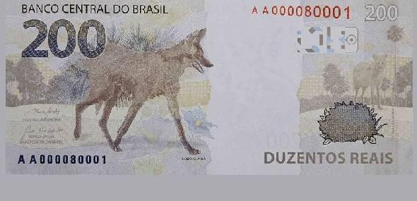 Saiu a nova cédula de R$ 200! sétima nota da família do Real