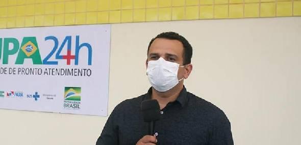 """Secretario de Saúde Adriano Coutinho """"Mais de 50% da população de Itaituba já pegou a Covid-19, provavelmente"""""""