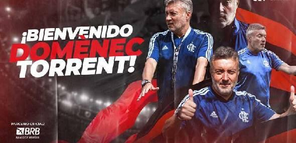 Torrent assina com o Flamengo até dezembro de 2021