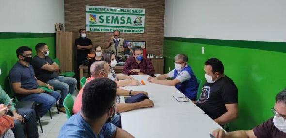 Uma equipe da SESPA está em Itaituba para reforçar estratégias de combate à pandemia