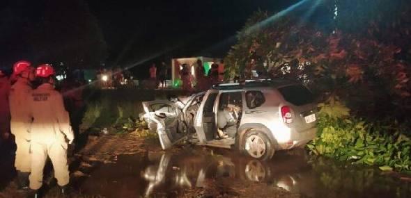 Veículo pega fogo em um grave acidente em Itaituba. Veja o vídeo